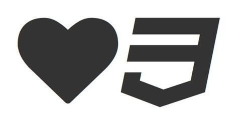 Отображение иконок шрифта средствами только css.